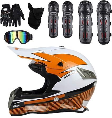 Amazon.es: Motocross Cascos Infantiles Cara Completa