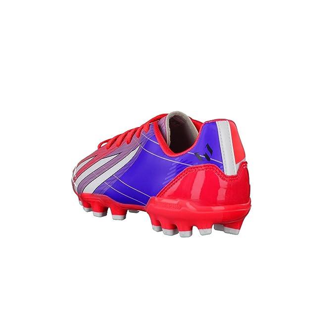adidas Bota Jr F10 TRX AG Messi Turbo-Purple Talla 3,5 UK