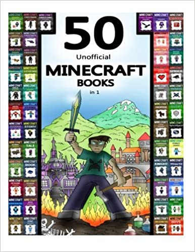 Image result for 50 unofficial minecraft books in 1