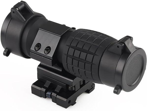 VERY100 Vergr/ö/ßerungsglas Bereich Magnification f/ür Red Dot Sight Flip bis zur Seite Optiklinse Abdeckunge