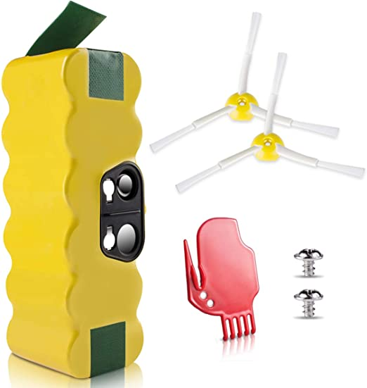 morpilot Batería de Reemplazo para iRobot Roomba, 4050mAh Ni-MH ...