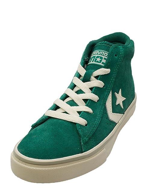 Converse 641630C Zapatillas de cuero para niño: Amazon.es