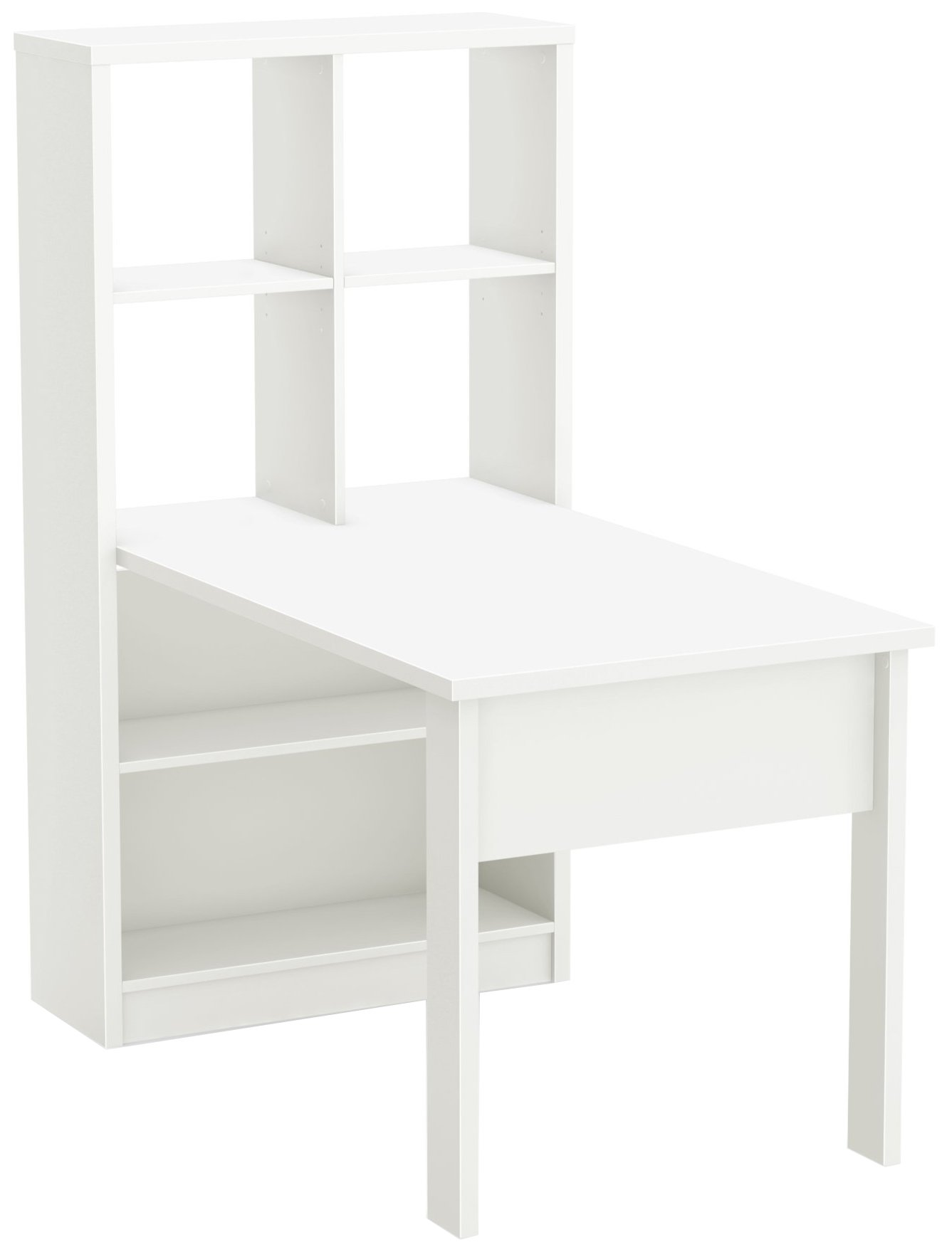 South Shore Annexe Craft Table and Storage Unit Combo, Pure White by South Shore