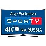 Smart TV LED UHD 4K 55 Curve, Samsung, UN55MU6300GXZD