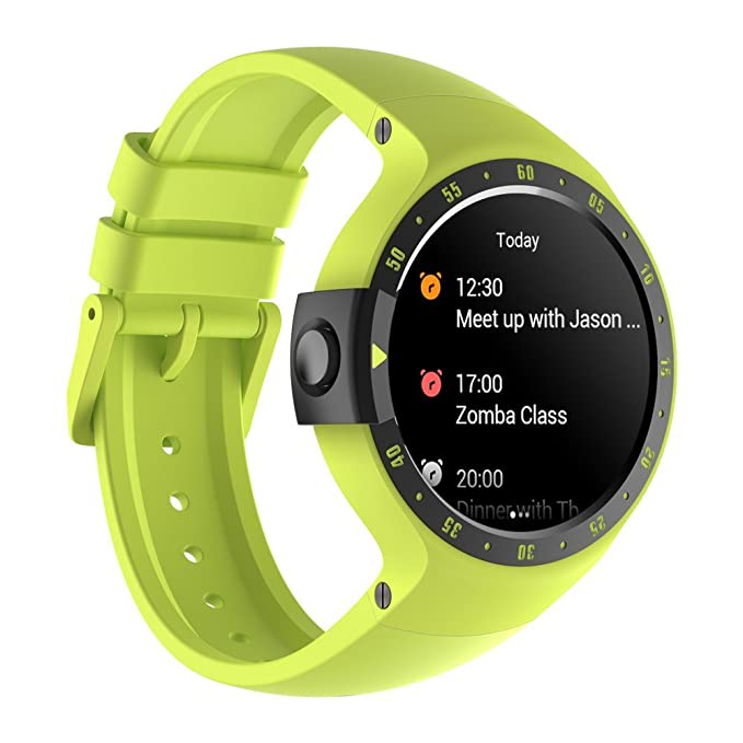 Ticwatch S Aurora Smart Watch,1 4 inch OLED Display, Android Wear  2 0,Compatible with iOS and Android, Your Sports Companion