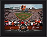 "Baltimore Orioles 10"" x 13"" Sublimated Team Stadium Plaque - Fanatics Authentic Certified - MLB Team Plaques and Collages"