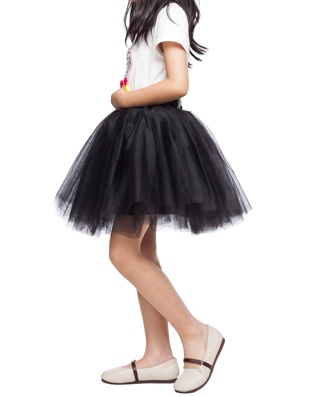 Steampunk Kids Costumes | Girl, Boy, Baby, Toddler Little Girl Tutu Skirt A Line 7 Layers Tulle Skirt Party Princess Dance Tutu Dress (3T -10T) $22.99 AT vintagedancer.com