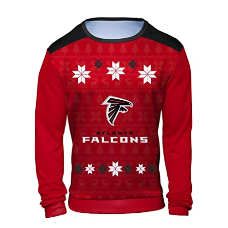 6f45cd1e10c8 Amazon.com   Klew NFL Mens Ugly Sweater   Sports   Outdoors