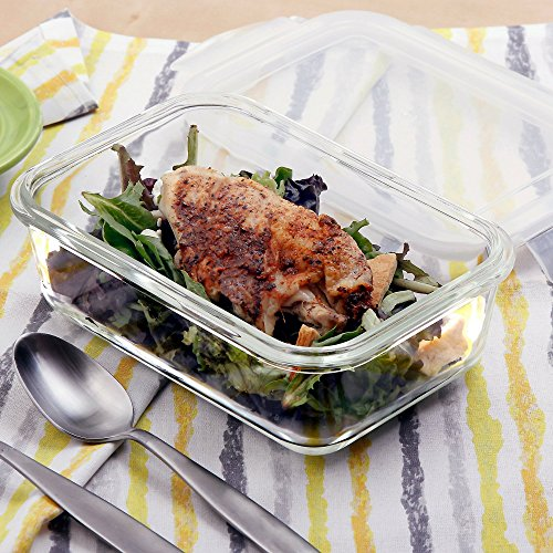 TOP 10 BEST REUSABLE  GLASS MEAL PREP CONTAINER REVIEWS 2019-2020 - cover