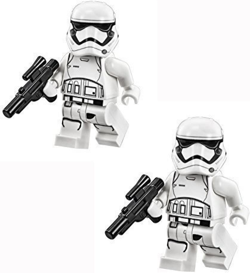 LEGO Star Wars The Force Awakens Minifigure - Pack of 2 First Order Stormtrooper with Blaster Guns