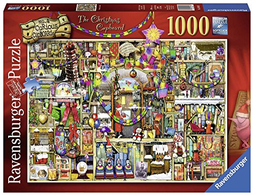 Ravensburger The Christmas Cupboard, Colin Thompson Jigsaw Puzzle (1000-Piece)