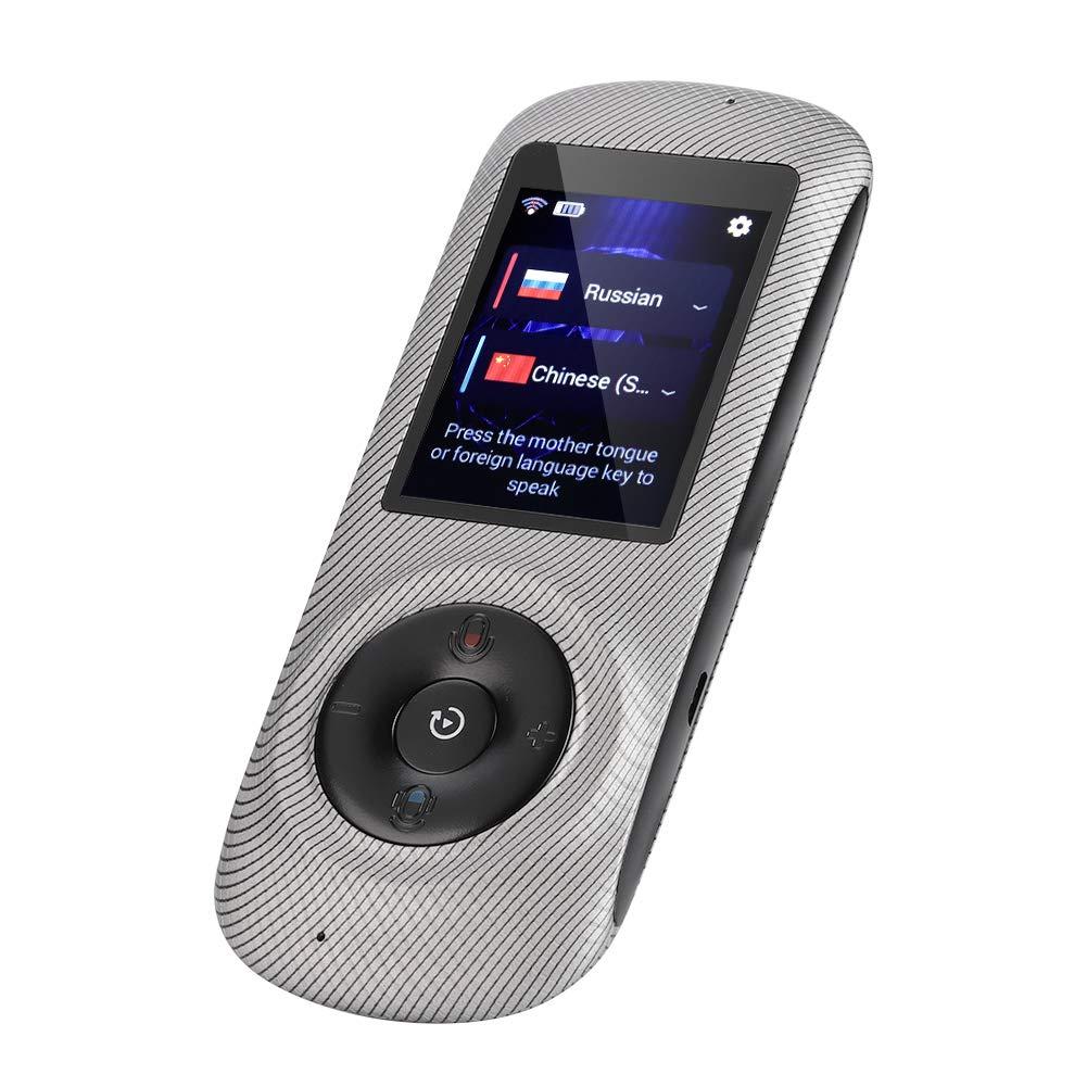 非売品 Eboxer ポータブルインテリジェントリアルタイムマルチ言語音声トランスレータースピーチ/テキストトランスレーションデバイス WiFi+ ホットポット WiFi+ ホットポット スマートポケットインタープリターサポート 52言語2.4インチHDタッチスクリーン付き, Eboxer65qxo4ac8h-03 Eboxer65qxo4ac8h-03 ストライプ B07K45PD5Q, 深谷市:496926c5 --- svecha37.ru