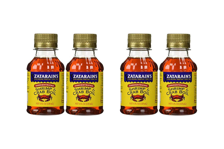 Zatarain Shrimp And Crab Boil 4 Fl Oz (Pack of 2) (2 Pack)