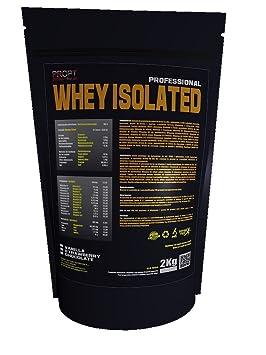 Whey Isolated PROPT 2kg 100% profesional, proteina isolada, sabor vainilla: Amazon.es: Salud y cuidado personal
