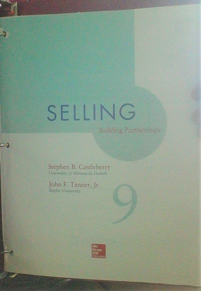 Selling Building Partnerships 9th edition ebook