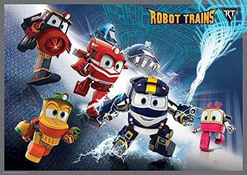 Robot trains cartoni animati