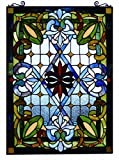 Fine Art Lighting Tiffany Window Panel, 20 by 29-Inch, 480 Glass Cuts Review