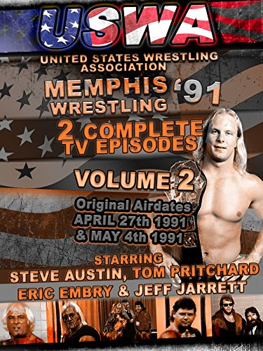 - USWA Memphis Wrestling 2 TV Episodes 1991 Vol 2