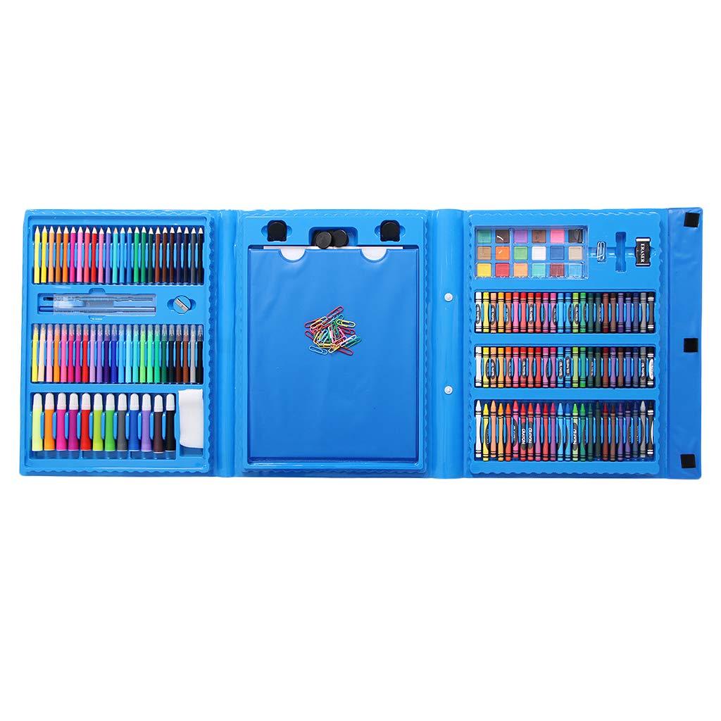 FLAMEER 176pcs Kinder Skizzierstifte Set Zeichnen Bleistifte, Graphitstifte