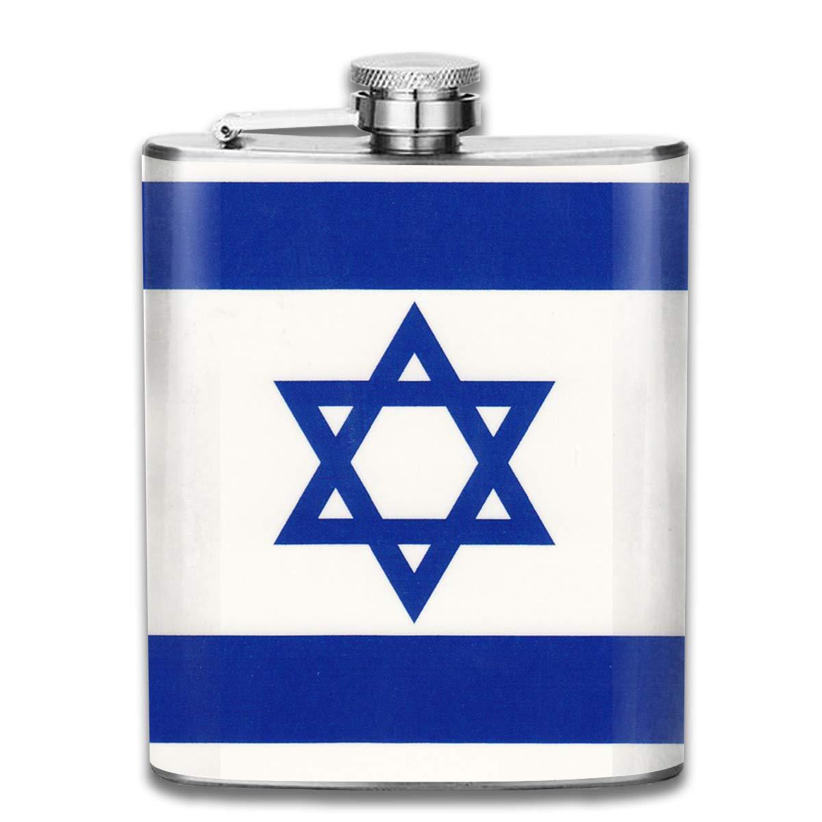 リアル Kupik 携帯用 7オンス ステンレススチール フラスコ イスラエル国旗 ミニフラゴン Kupik フラスコ レザーパッケージ ミニフラゴン ジャグフラゴン メンズ レディース ギフト B07KT62CFH, 秘密基地:05868520 --- a0267596.xsph.ru