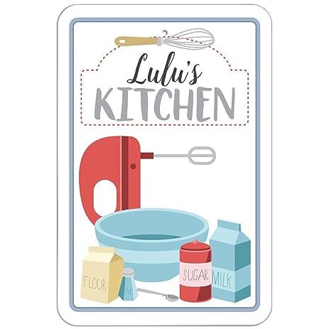 lulus kitchen sign 12 x 18 - Lulus Kitchen