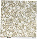 American Crafts 733103 25 Sheet Lace Spring Fling Double-Sided Cardstock, 12'' by 12'', Multicolor