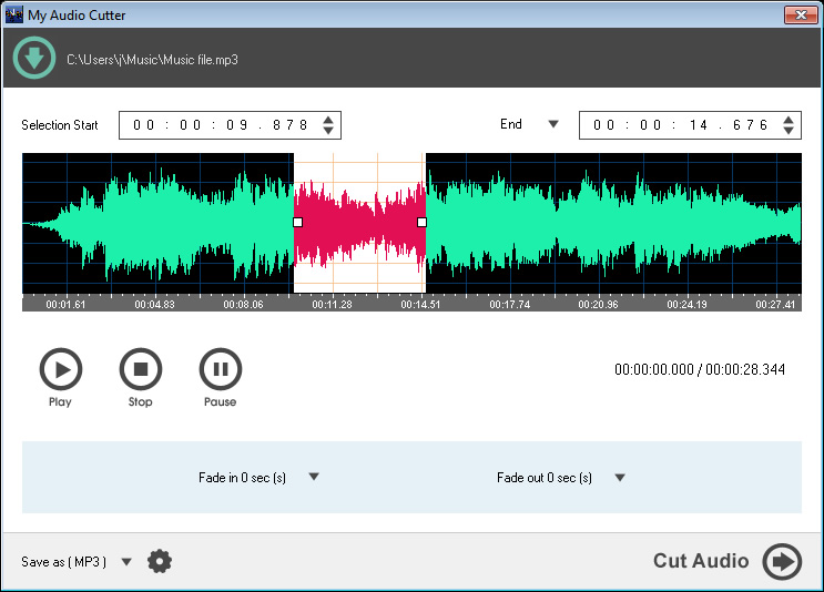 My Audio Cutter [Download]
