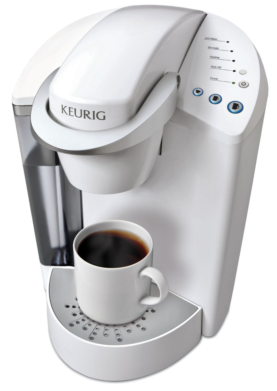 Keurig K55 Single Serve Programmable K-Cup Pod Coffee Maker, Coconut White by Keurig