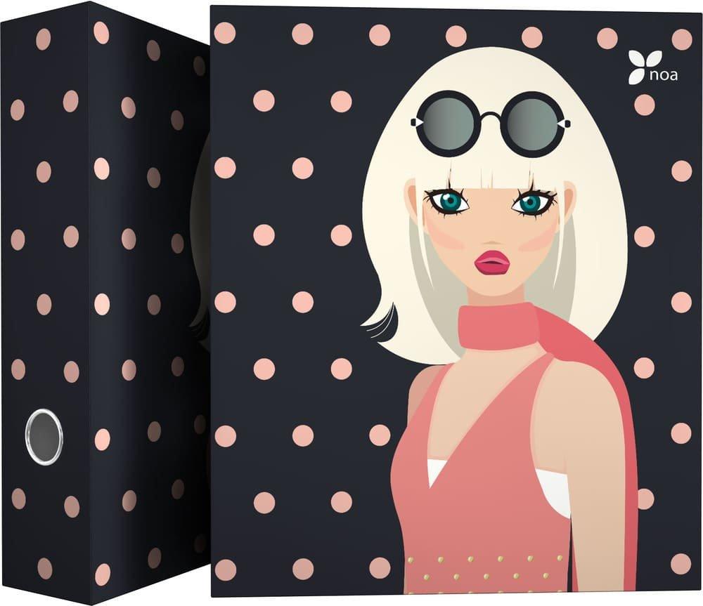 Dise/ño Noa Globe 4 Anillas Mixtas 25mm Carpeta con Anillas A4 Grafopl/ás 88141961