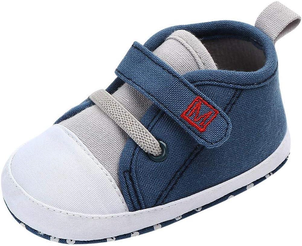 SHOBDW Boys Shoes Toddler Baby Girl Boys Autumn Winter Keep Warm Fox Hight Cut Sneaker Anti-Slip Soft Sole Shoes