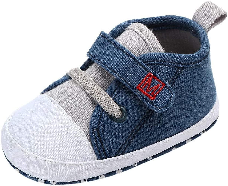 YanHoo Zapatos para niños Carta de bebé Zapatos de Lona ...