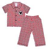 Babeeni Baby Boys 2pcs Pajama Set Smocke...