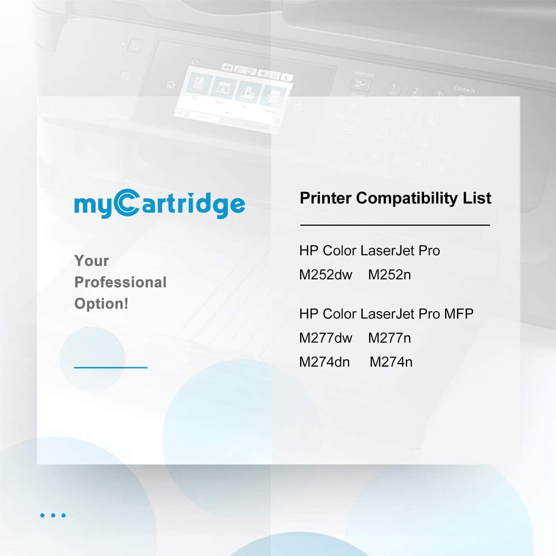MyCartridge 4 Pack Compatible HP 201X CF400X CF401X CF402X CF403X ...