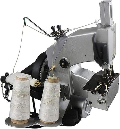 WTY Máquinas de Coser de Doble línea de Doble Aguja, Cierre de Saco Tejido PP, máquina de Coser de Cierre de Saco de Bolsa eléctrica Manual portátil, 220V: Amazon.es: Hogar