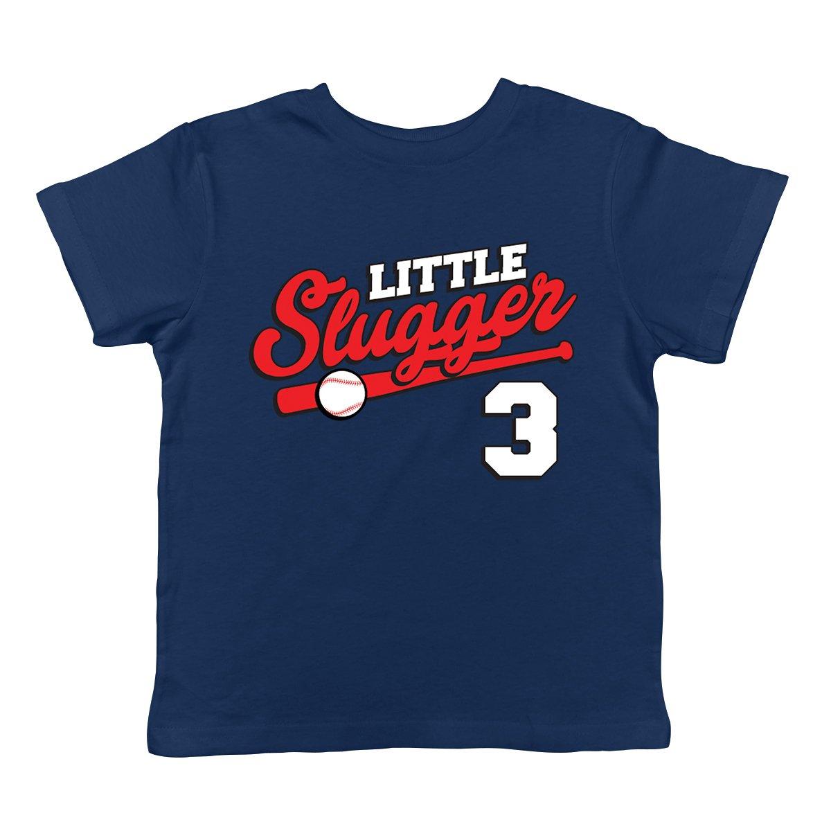 SpiritForged Apparel Little Slugger 3 Year Old Infant T-Shirt