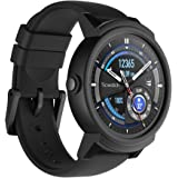 Ticwatch E Android Wear Smartwatch-Shadow-Interchangeable 20mm Silicon Band/Black