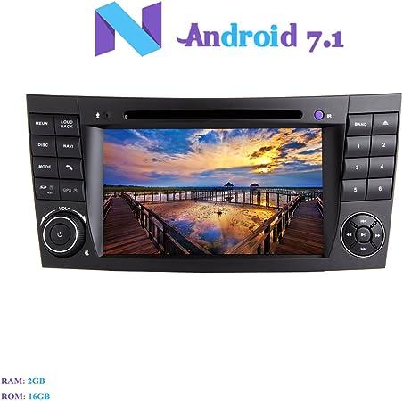 Android 7.1 Autoradio, Hi-azul 2 DIN Radio de Coche In-Dash ...
