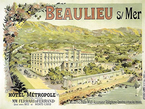 Hotel Metropole Vintage Apple Collection Art Print, 29 x 22 - Collection Metropol