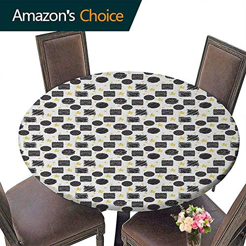 Home Print Round Tablecloth 43