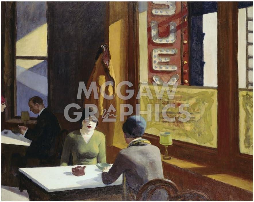 Edward Hopper Room in Brooklyn Wall Art Poster Print