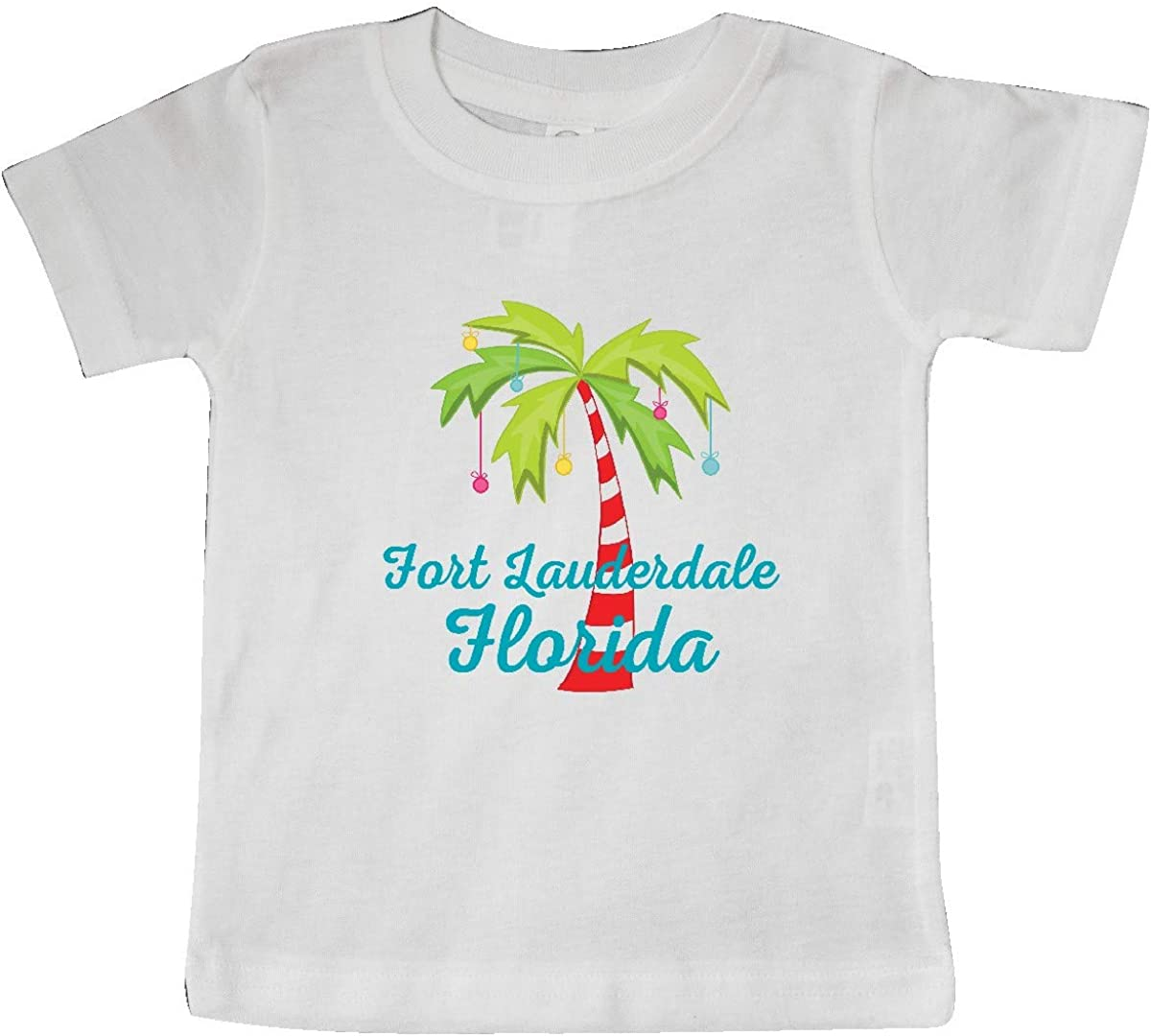 inktastic Fort Lauderdale Florida Christmas Vacation Baby T-Shirt