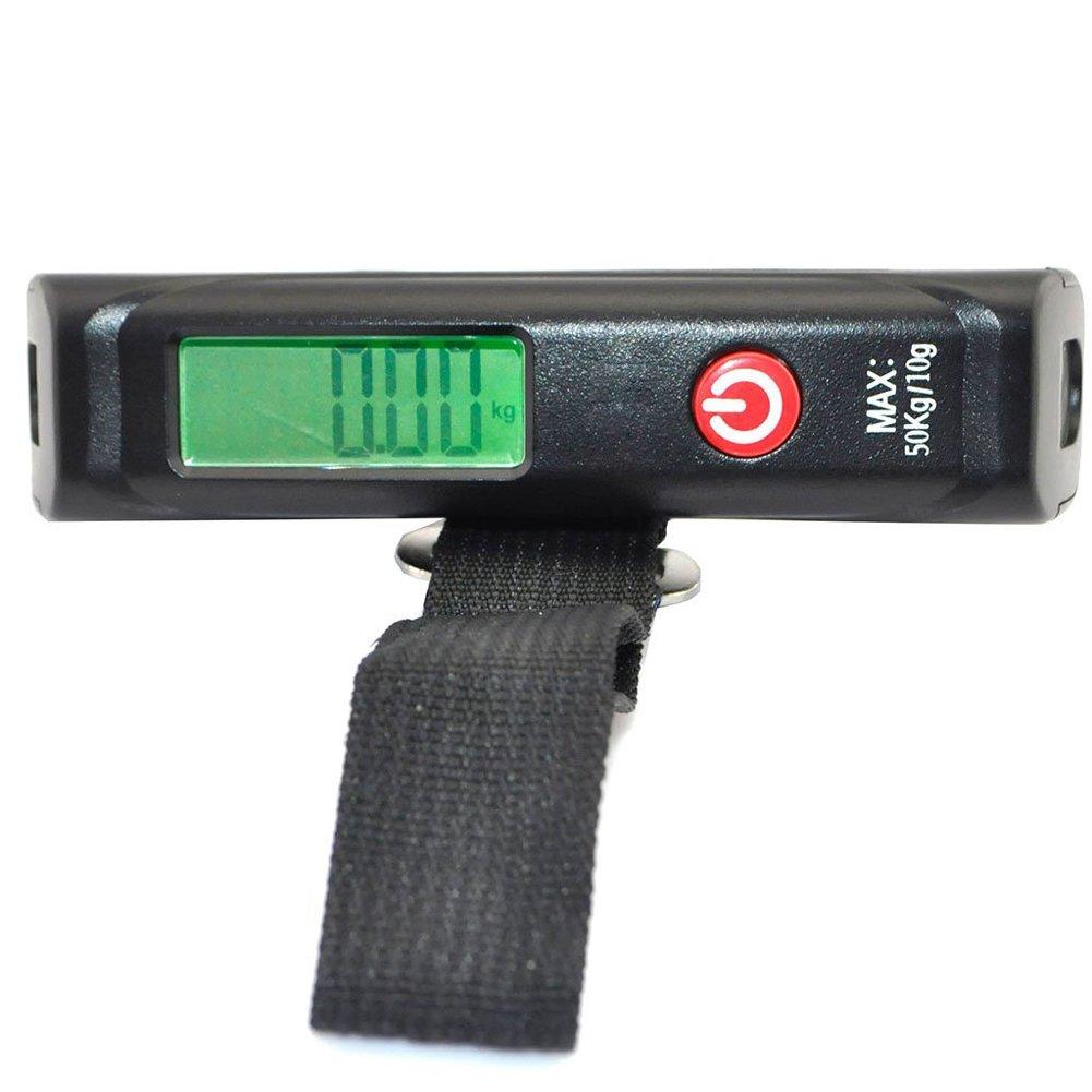 LuxeBell® 40Kg/10g LCD Electrónico Balanza de peso digital: Amazon.es: Equipaje
