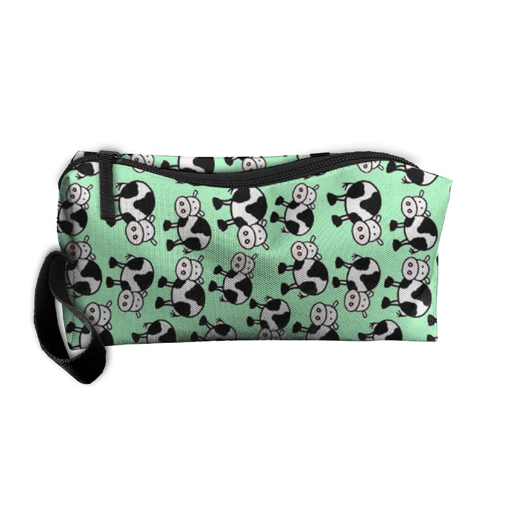 new Vvdfedsee Cow Multifunction Handle Toiletry Bag Portable Buggy Bag  Travel Small Makeup Clutch Bag Cosmetic 9a131bae02a5a