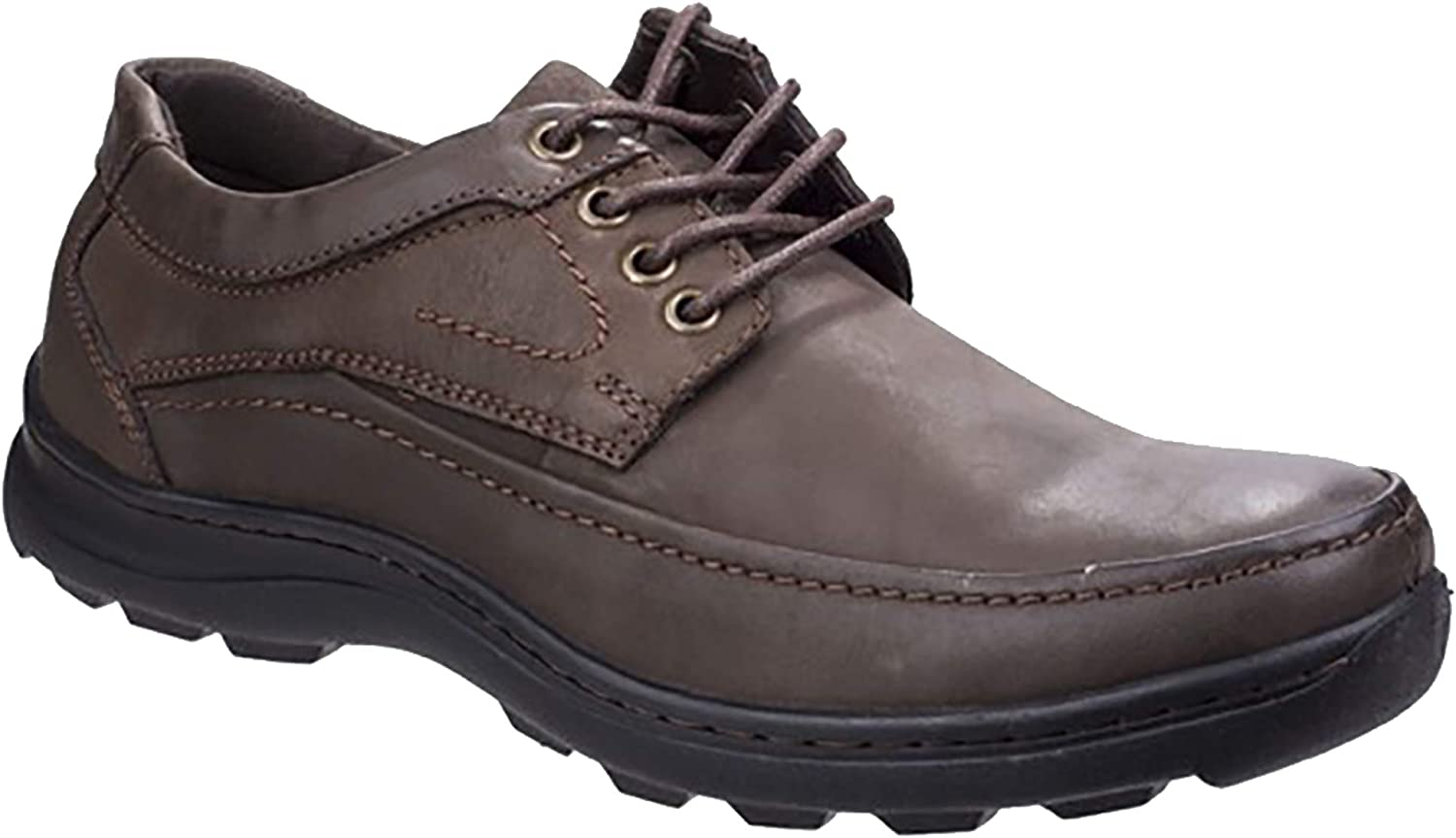 Fleet /& Foster Mens Leather Luxor Lace-Up Shoes