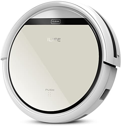 ILIFE V5 Robotic Vacuum Cleaner upgraded version of V3S for All Kinds of Floor Cleaning Gray