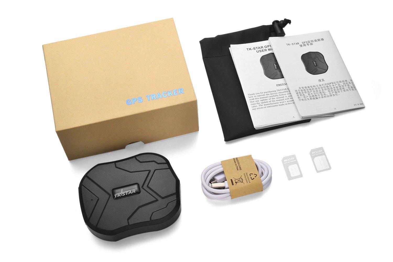 forte magnete e 5000 mAh batteria TKSTAR905 JUNEO TKSTAR GPS Tracker Localizzatore veicolo per auto con free mobile Apps