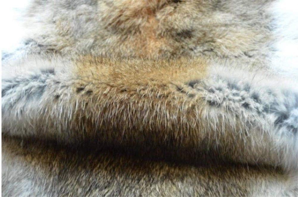 6 Colores Calentador de Cuello Cuello KERDEJAR 15x90cm Bufanda de Piel de Conejo de imitaci/ón de Felpa Gruesa de Invierno para Mujer pa/ñuelo de Punto Chal de Color Caramelo s/ólido pa/ñuelo Largo