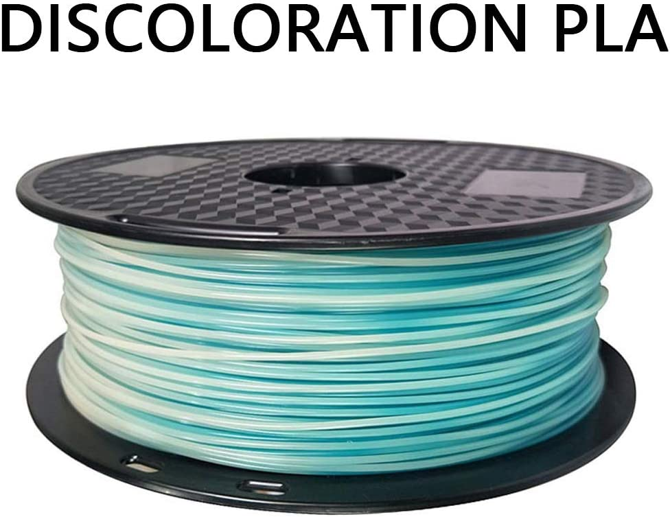 Pla Filament 1 75mm Thermochromic Filament 1kg 2 2lbs Used For 3d Printers And 3d Pens Multiple Color Options Color Emerald To White Amazon Ca Home Kitchen