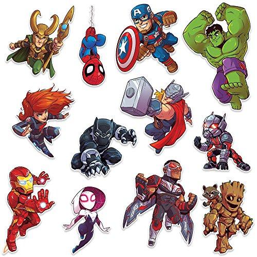 (Eureka Classroom Marvel Super Hero Adventure 2-Sided Deco Kits )