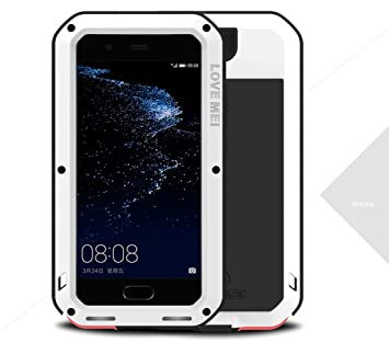 separation shoes fd224 322f7 Huawei P10 Waterproof Case, Love Mei Shockproof Dust/Dirt/Snow Proof  Aluminum Metal Protective Case Cover for Huawei P10 5.1